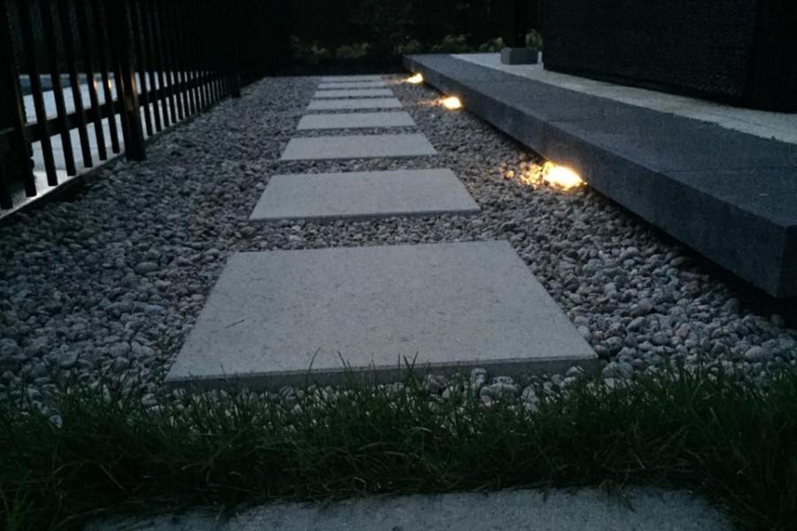 L'éclairage au jardin!