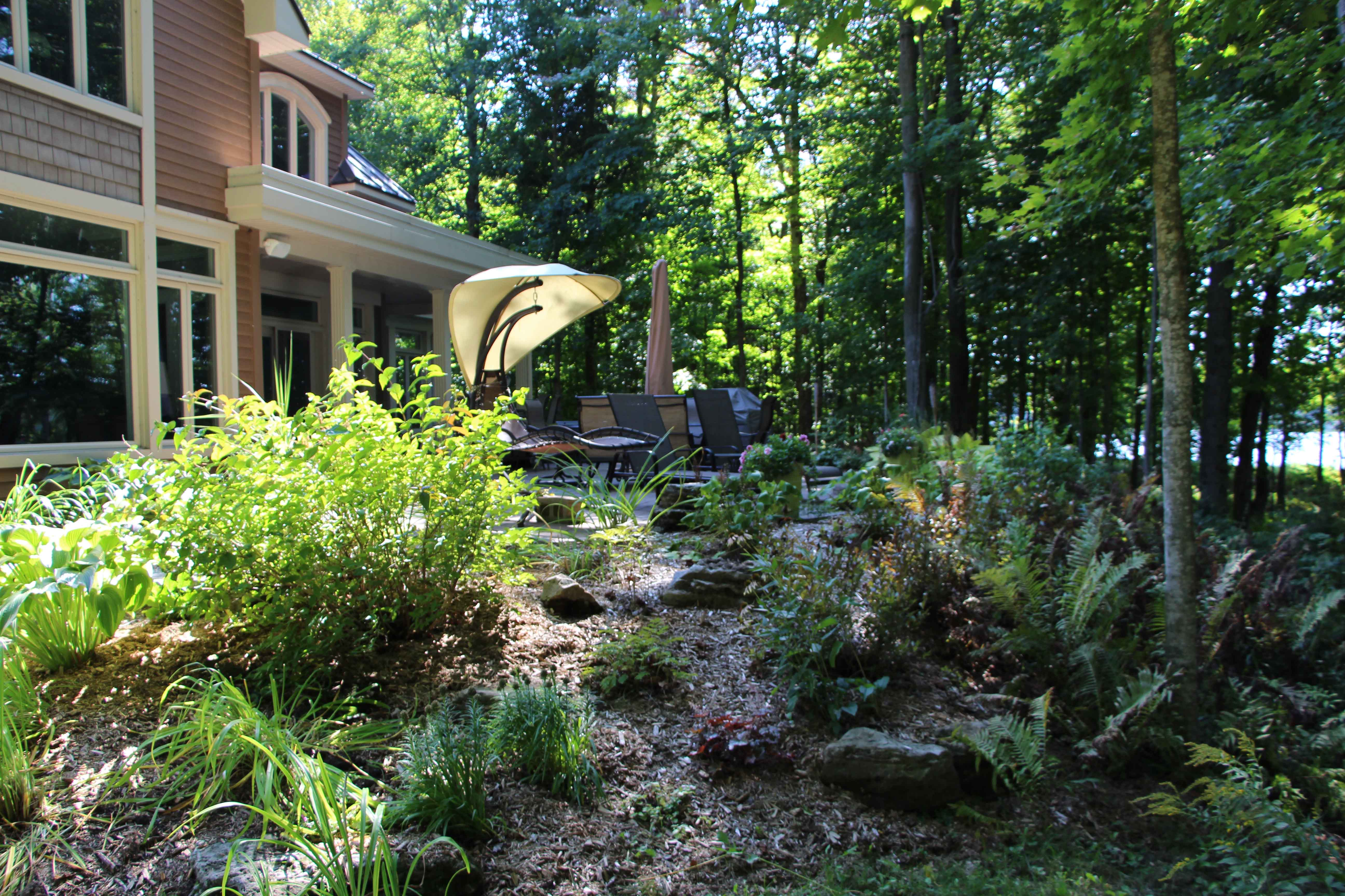 Aménagement Extérieur Maison Terrain En Pente art nature paysagiste - aménagement paysager